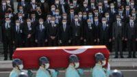 TBMM'de Osman Durmuş için cenaze töreni düzenlendi