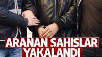 ARANAN 57 ŞAHIS YAKALANDI