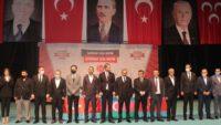 MHP Karesi'de Burak Boduroğlu tek listeyle güven tazeledi