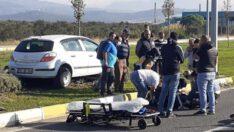 Havran'da trafik kazası: 1 ölü
