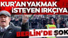 Kur'an-ıKerimyakmak isteyenRasmus Paludan'aBerlin'de devprotesto Avrupa'da İslam düşmanlığı devam ediyor