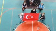 Atatürk'ün vefatının 82. yılında Koşabiliyorken Koş projesi kapsamında çalışma yapan kadın tenisçilerimiz…