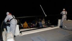 29 göçmen Sahil Güvenlik tarafından kurtarıldı