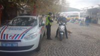 (765) araç kontrol edildi, (40) araca (19.845) TL. idari para ceza uygulandı