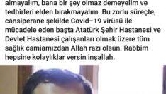Dursunbeyli iş adamı koronavirüsten öldü