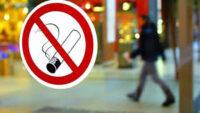 Cadde ve sokaklarda yürürken sigara içmek yasaklandı