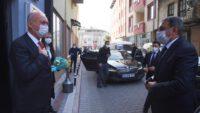 Dursunbey Belediye Başkanı Ramazan Bahçavan ve Eşinin testi pozitif çıktı, karantinaya alındılar