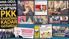 Ana-oğul ihtirasları CHP'nin PKK kanadına kadar götürdü!