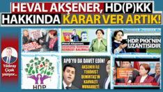 Heval Akşener, HD(P)KK hakkında karar ver artık!