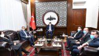 Çevre ve Şehircilik Bakanı Murat Kurum Balıkesir Valiliği'ni ziyaret etti.
