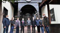 Balıkesir valisi Hasan Şıldak BGC'yi kutladı