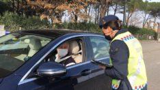 (53.048) TL idari para cezası uygulanmış, (34) araç trafikten men edildi