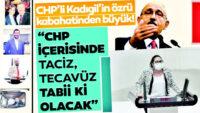 Milli Güvenlik ve sosyal ahlak meselesi CHP