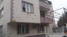 Doğalgaz patladı, 9 daire hasar gördü