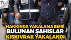 Çeşitli suçlardan aranan(87) şahıs yakalandı.