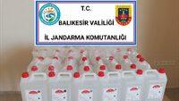150) litre kaçak etil alkol ele geçirildi