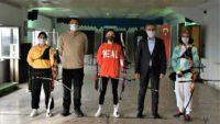 Sportif antrenmanlar pandemi kuralları çerçevesinde devam ediyor…