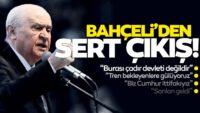 MHPlideri Bahçeli'den HDP'ye çok sert tepki
