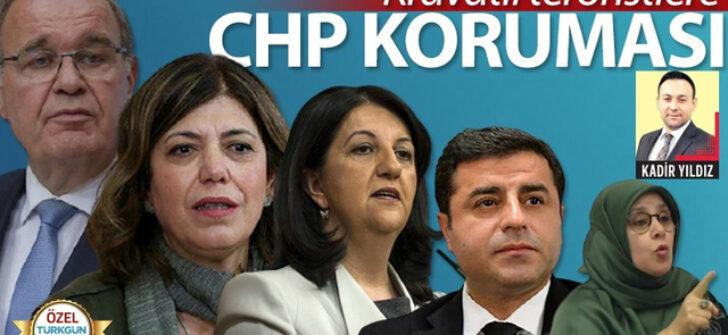Kravatlı teröristlere CHP koruması