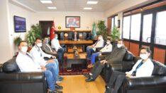 Rektör Prof. Dr. İlter Kuş, BAÜN Acil Tıp Kliniğinin İlk Asistan Hekimlerini Kabul Etti