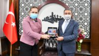 Kosova İstanbul Başkonsolosundan valiye ziyaret