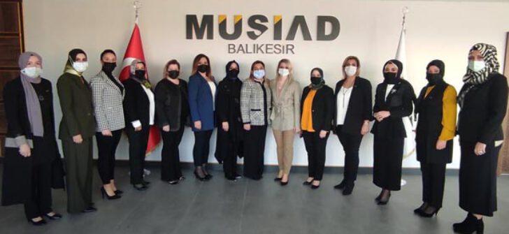 MÜSİAD Kadın Balıkesir'de iddialı başladı