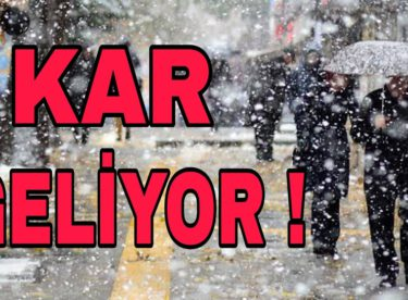 Meteoroloji uzmanları uyardı: Kar yağışı ..