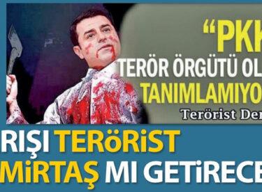 Barışı terörist Demirtaş mı getirecek?