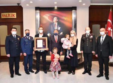 18 Mart Şehitler Günü Dolayısıyla Devlet Övünç Madalyaları Verildi