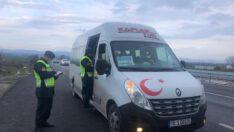 147.702 TL idari para cezası uygulandı, (87) araç trafikten men edildi
