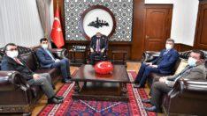 Harp Malulü Gaziler-Şehit Dul ve Yetimleri Derneği Genel Başkanından ziyaret
