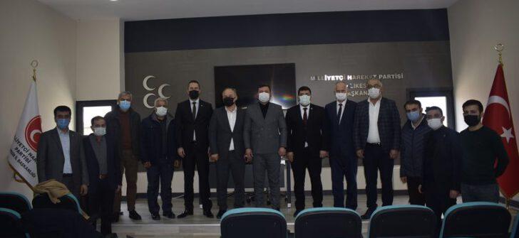 BALIKESİR MHP'DE İSTİŞARE TOPLANTISI