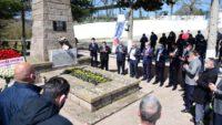 Kurtdereli Mehmet Pehlivan Mezarı başında anıldı