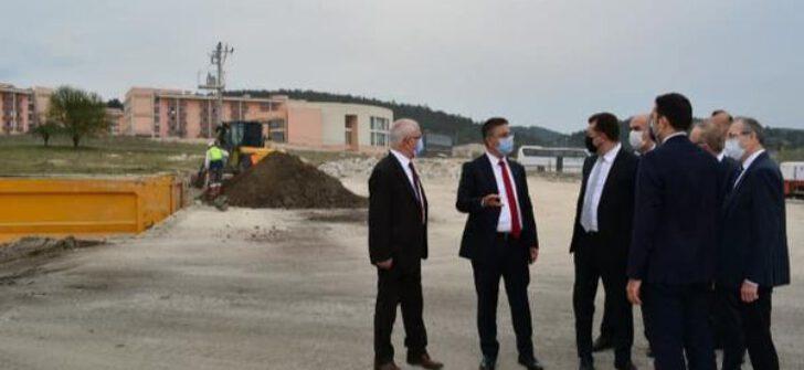 KYK Kız Öğrenci Yurdu projesi kapsamında 1.500 kişilik ilk etapta inşaat çalışmaları başladı.