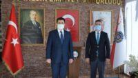 BAÜN Rektörü İlter KUŞ Balıkesir İl Emniyet Müdürü Hasan Onar'ı makamında ziyaret etti.