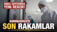 Sağlık Bakanlığıkoronavirüsvakave vefat sayısı açıklandı