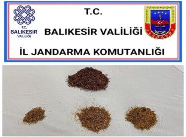 KUBAR ESRAR MADDESİ ELE GEÇİRİLDİ