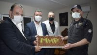 MHP'DEN POLİS NOKTALARINA ZİYARET
