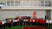 Kara Kuvvetleri Komutanlığı Kick Boks Şampiyonası Şehit Turgut Spor Salonunda gerçekleştirildi.