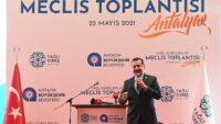Yağlı Güreş Birliği Antalya'da toplandı YÜCEL YILMAZ YENİDEN BAŞKAN SEÇİLDİ