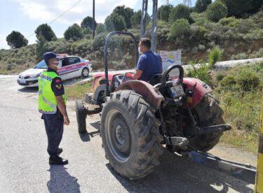 """""""Motosiklet, Traktör ve Emniyet Kemeri Denetimi"""""""