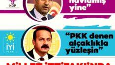 HDP'li vekilden İYİ Partili vekile büyük hakaret: 'Yavuz it havlamış yine…'