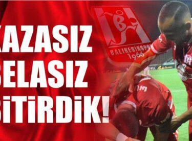 Balıkesirspor bu sezona 5-0 ile nokta koydu!