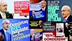 Demirtaş'ı, CHP Genel Başkanı mı yapacaksınız?