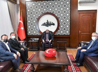 MHP İL BAŞKANI YÜKSEL'DEN VALİ ŞILDAK'A ZİYARET