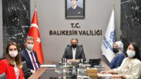 VALİ ŞILDAK'A ZİYARET