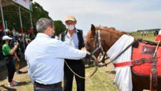 Vali Şıldak Geleneksel Rahvan At Yarışlarına Katıldı