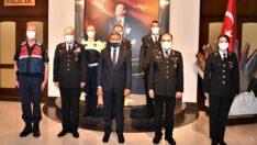 Vali Şıldak'a Jandarma Teşkilatından Ziyaret