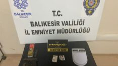 POLİSTEN UYUŞTURUCU OPERASYONU