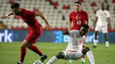 Türkiye-Gine maçında gol sesi çıkmadı